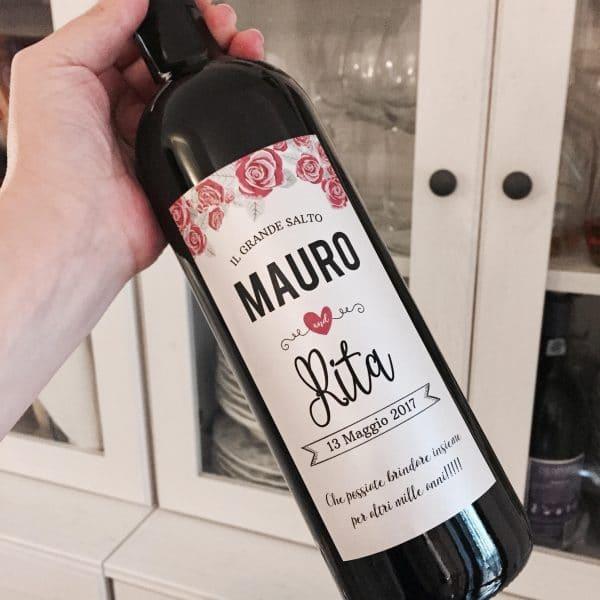 bottiglia-vino-personalizzata-rosa-anniversario