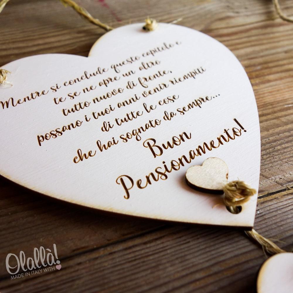Targhetta a cuore in legno shabby idea regalo for Idee regalo per una cavallerizza