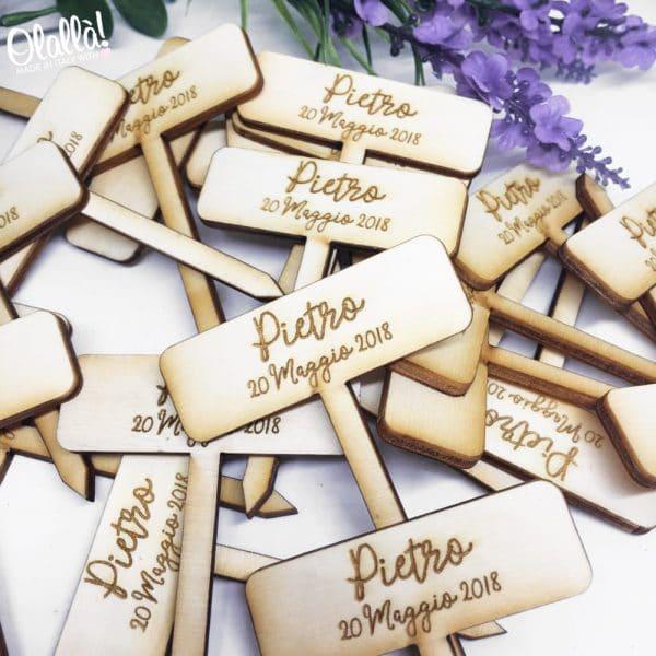 etichete-piante-personalizzate-bomboniere-nome-data-legno