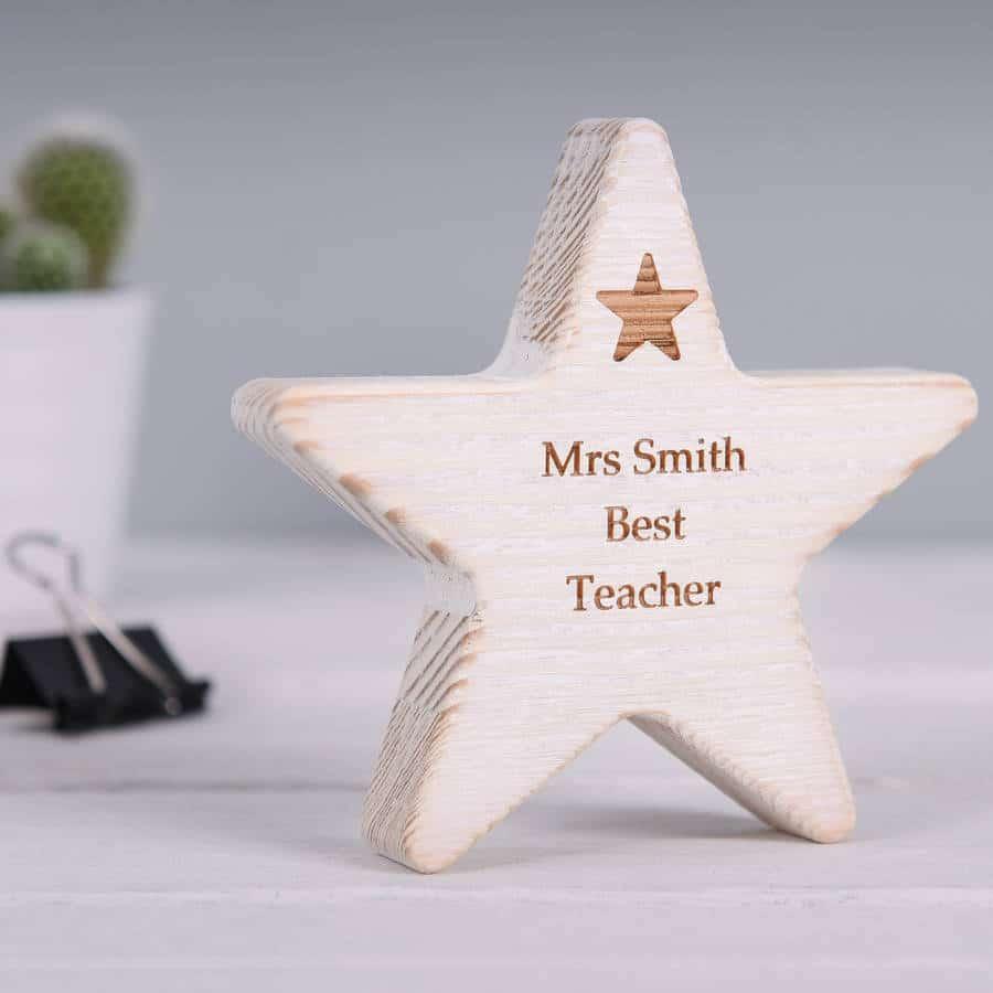 stella-legno-personalizzata-miglior-insegnante