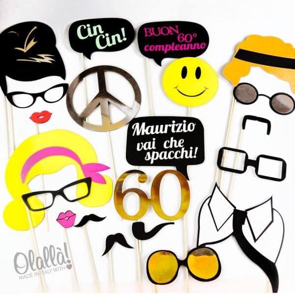 party-props-anni-60-compleanno
