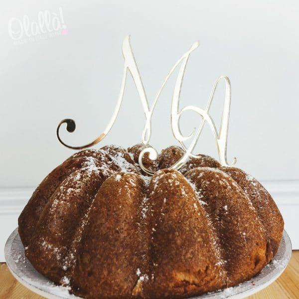 cake-topper-iniziali-intrecciate