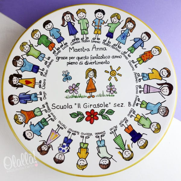 piatto-ceramica-maestra-regalo-dipinto-ritratti-bambini2