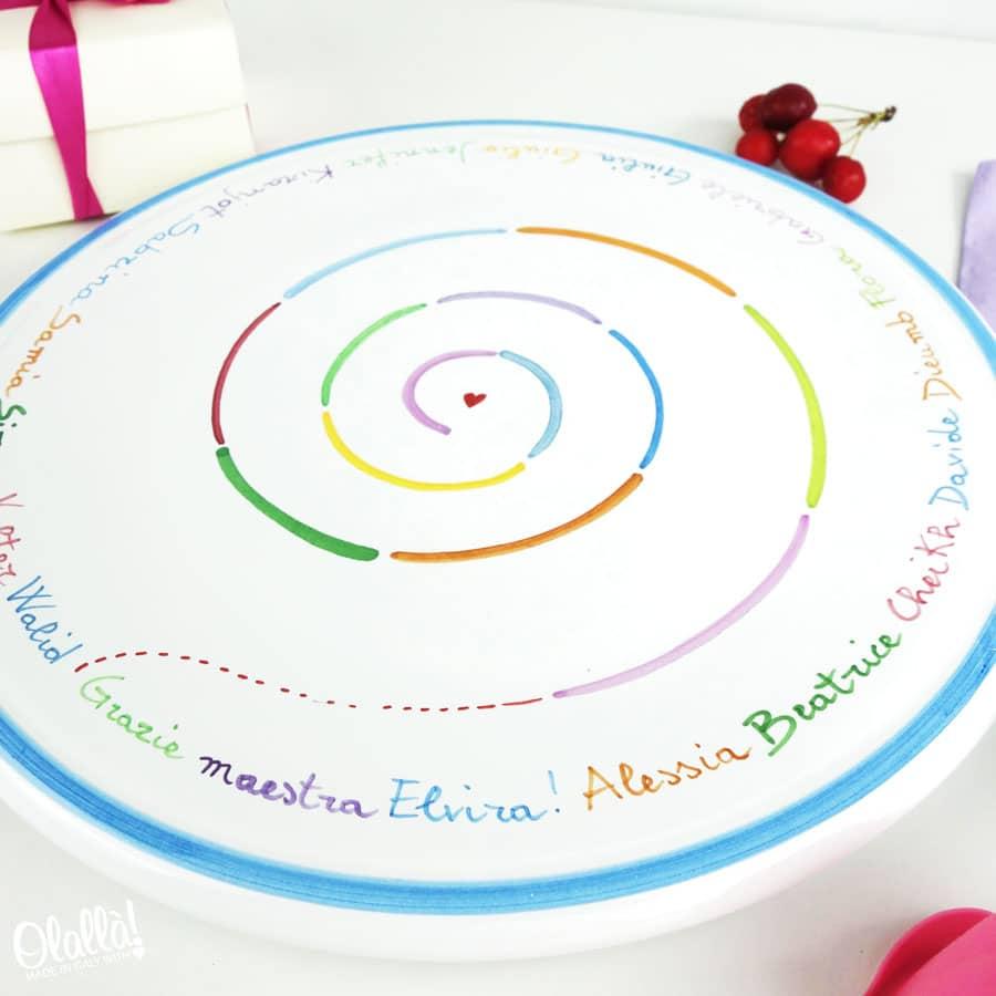 Tortiera-regalo-maestre-fine-anno-nomi-alunni-personalizzata2