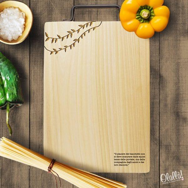 tagliere-decoro-foglie-frase-personalizzata-idea-regalo