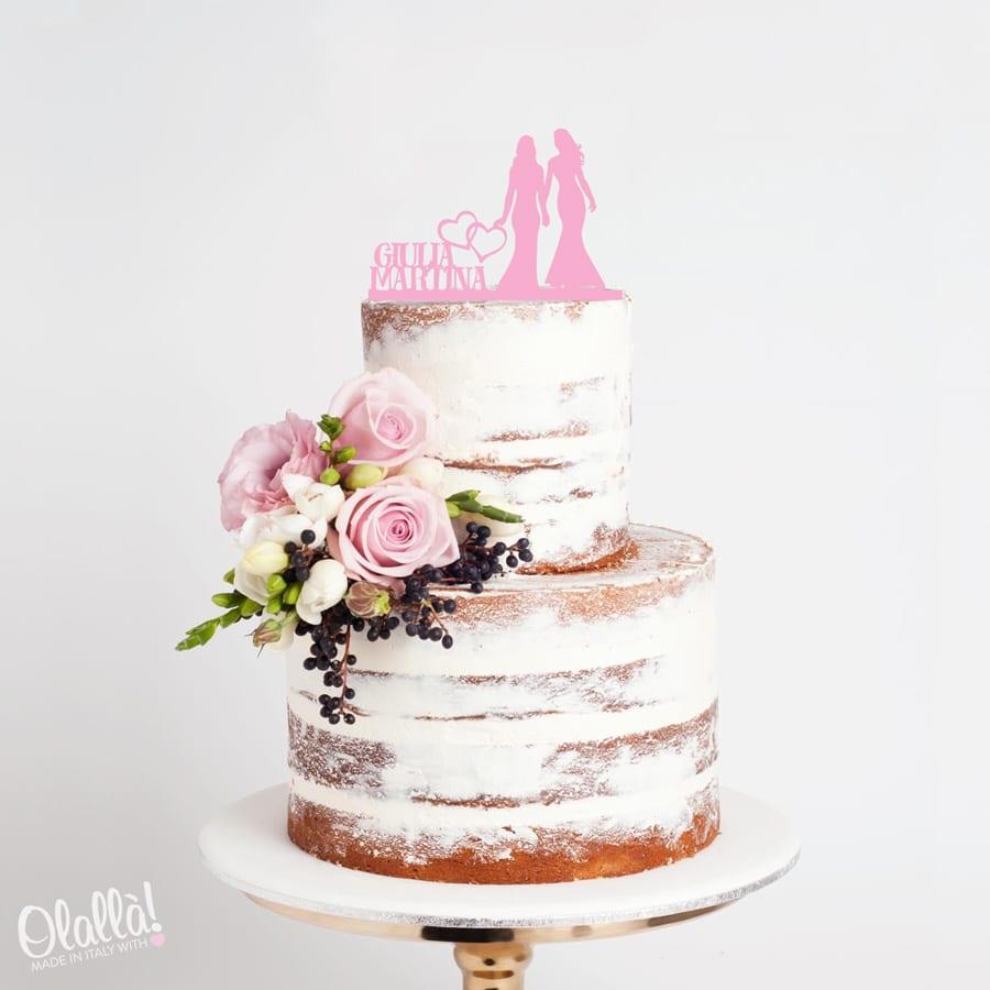 cake-topper-coppia-donne-con-nomi-e-cuori-matrimonio