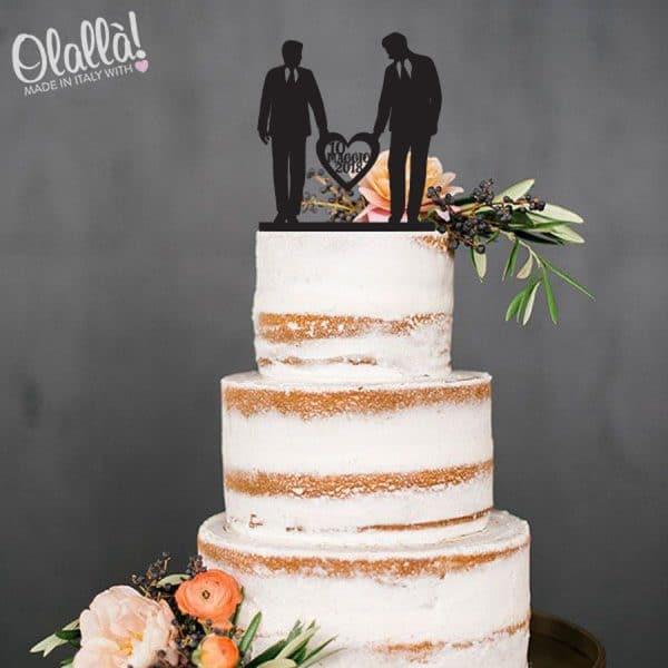 cake-topper-uomini-e-cuore-matrimonio-personalizzato