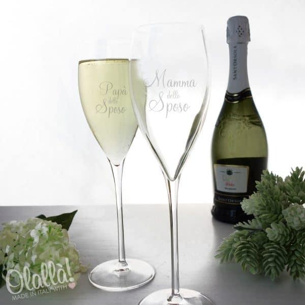 flute-bicchieri-matrimonio-mamma-papà-sposo-regalo-personalizzato