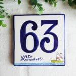 numero-civico-personalizzato-ceramica-regalo-barca-estivo
