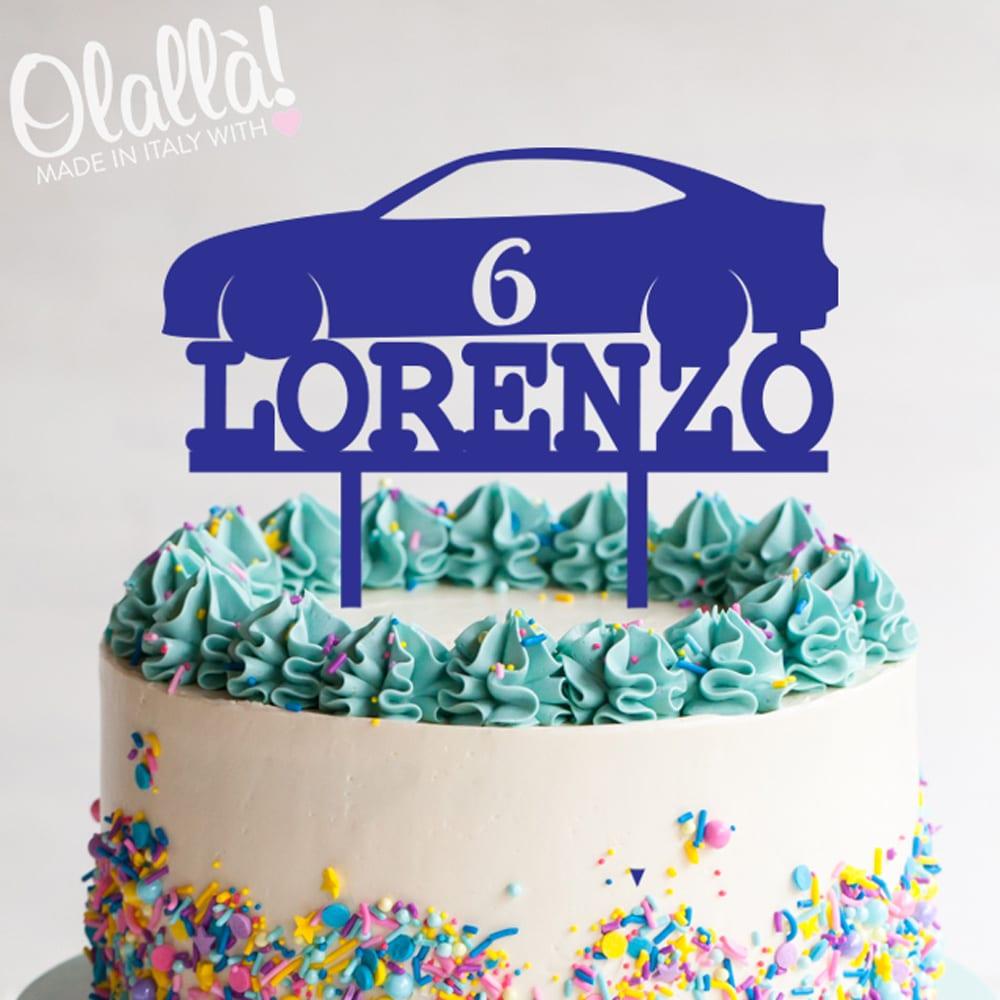 Cake-topper-macchinina-personalizzata-compleanno