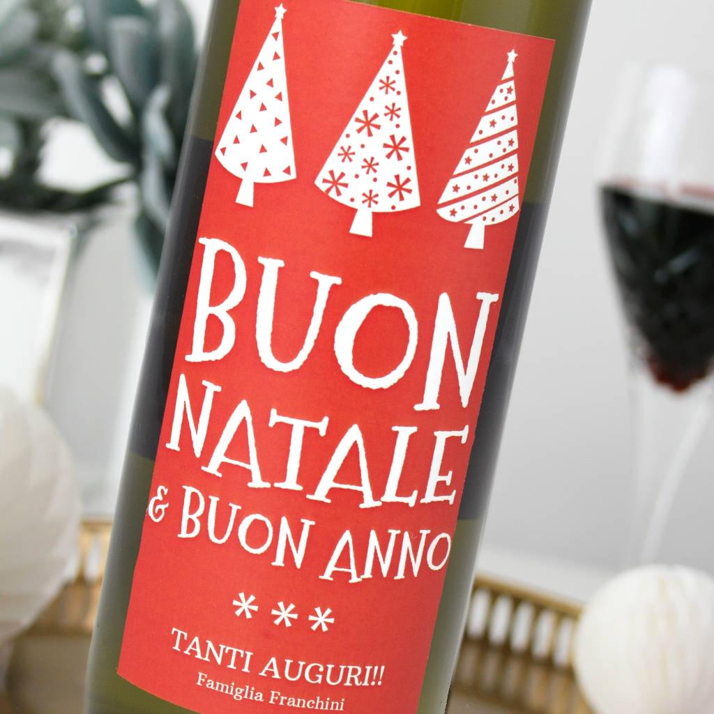 Auguri buon anno vino