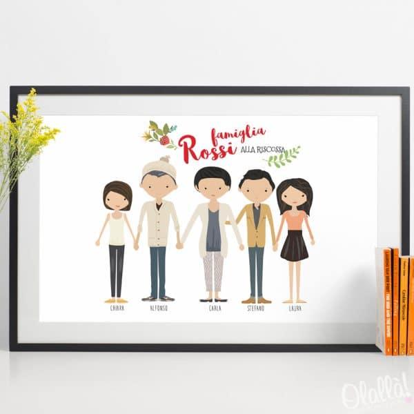ritratto-famiglia-personalizzato