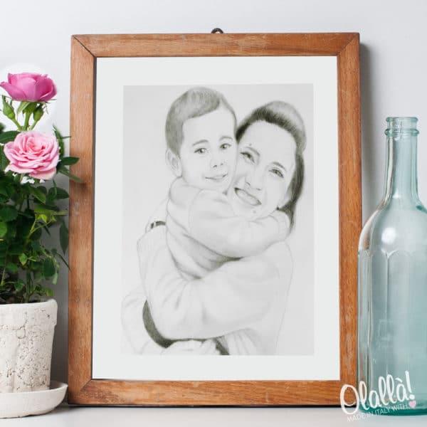 ritratto-matita-mamma-bambin2o