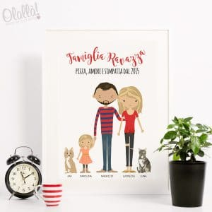 ritratto-personalizzato-famiglia-digitale