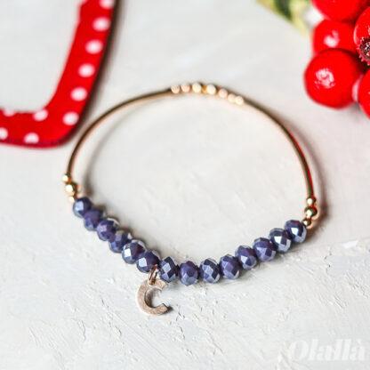 braccialetto-iniziale-idea-regalo-cristallini