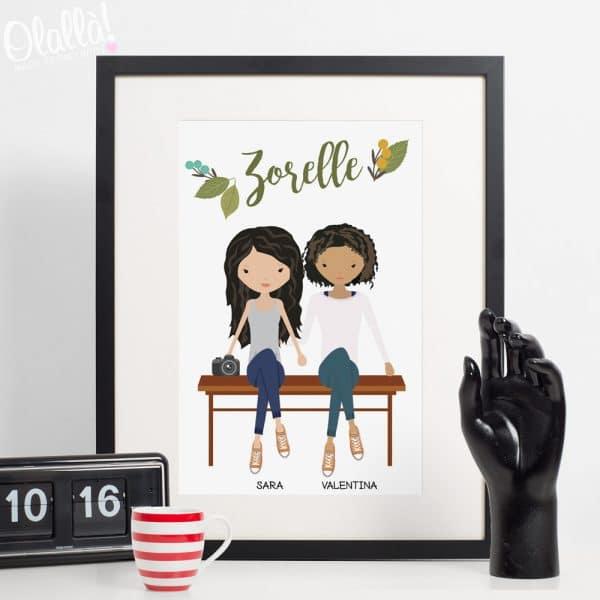 ritratto-amiche-regalo-personalizzato