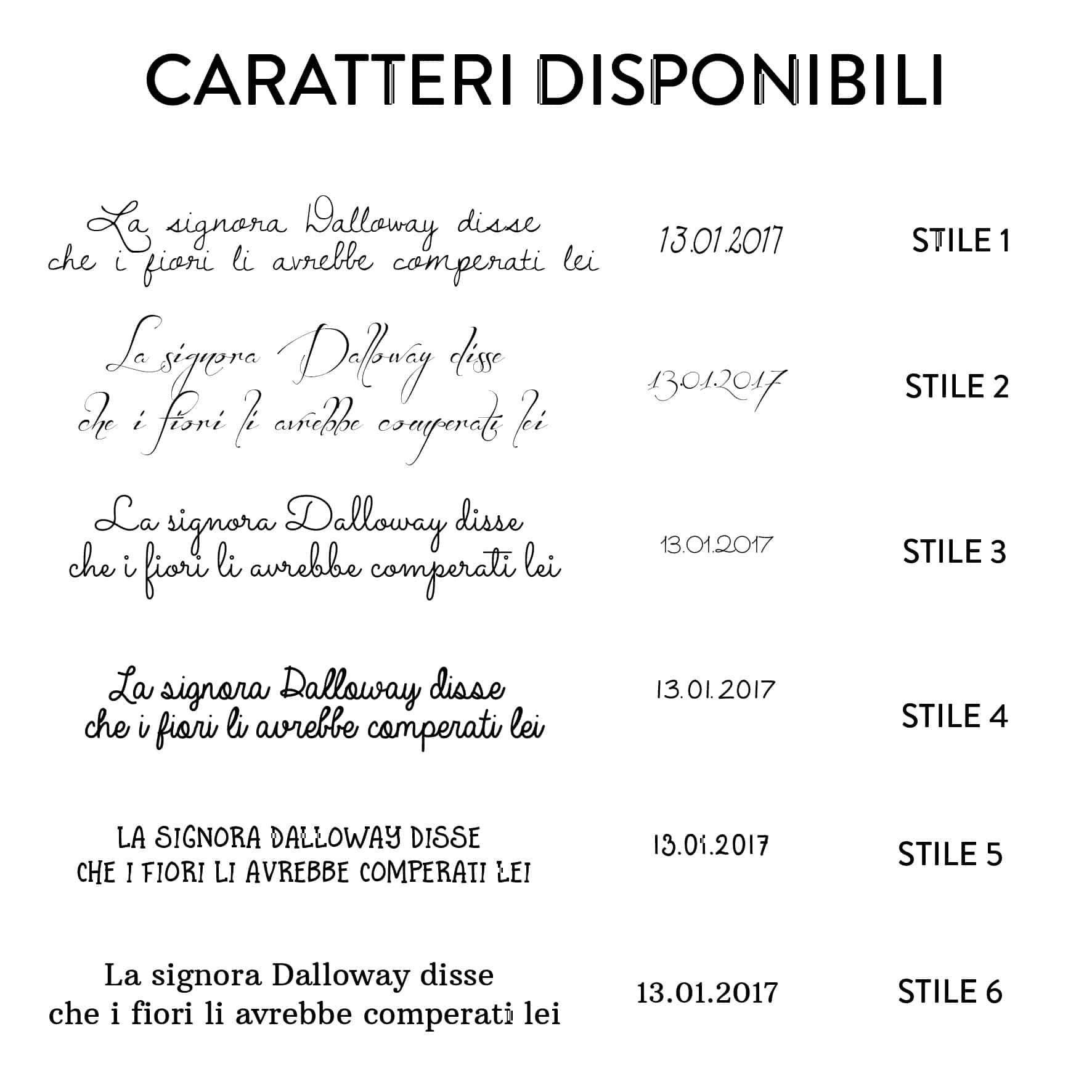 CARATTERI-DISPONIBILI CUOIO QUADERNI-01