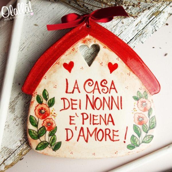 casetta-ceramica-regalo-nonni-personalizzata