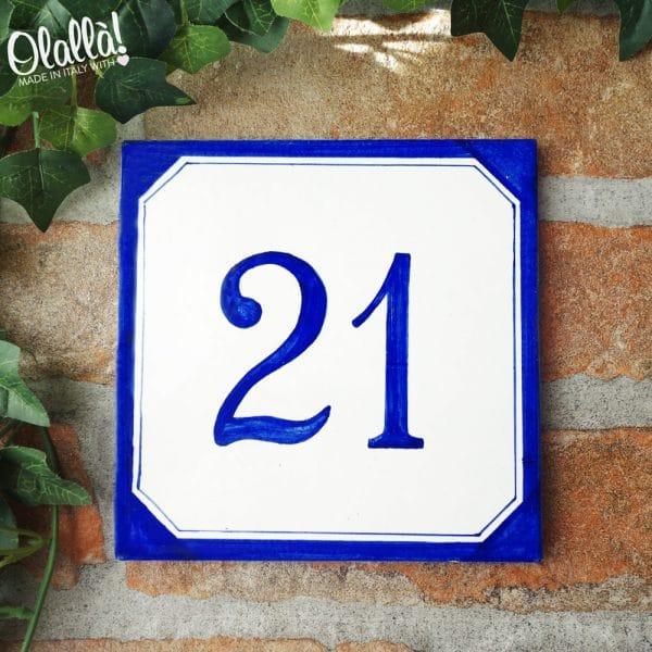 numero-civico-blu-semplice-personalizzato