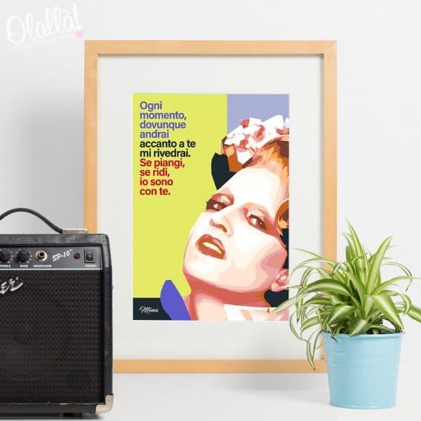 poster-mina-regalo-personalizzato-cantante