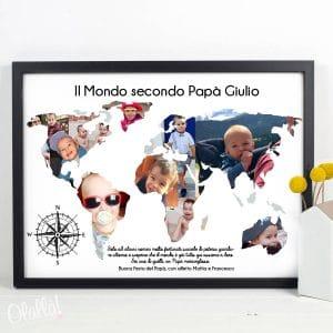 stampa-mappa-del-mondo-papa-personalizzata