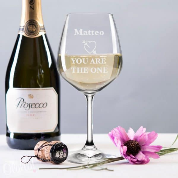 calice-vino-you-are-the-one-personalizzato