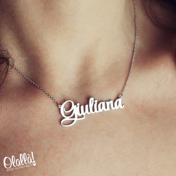 collana-personalizzata-nome-argento-corsivo