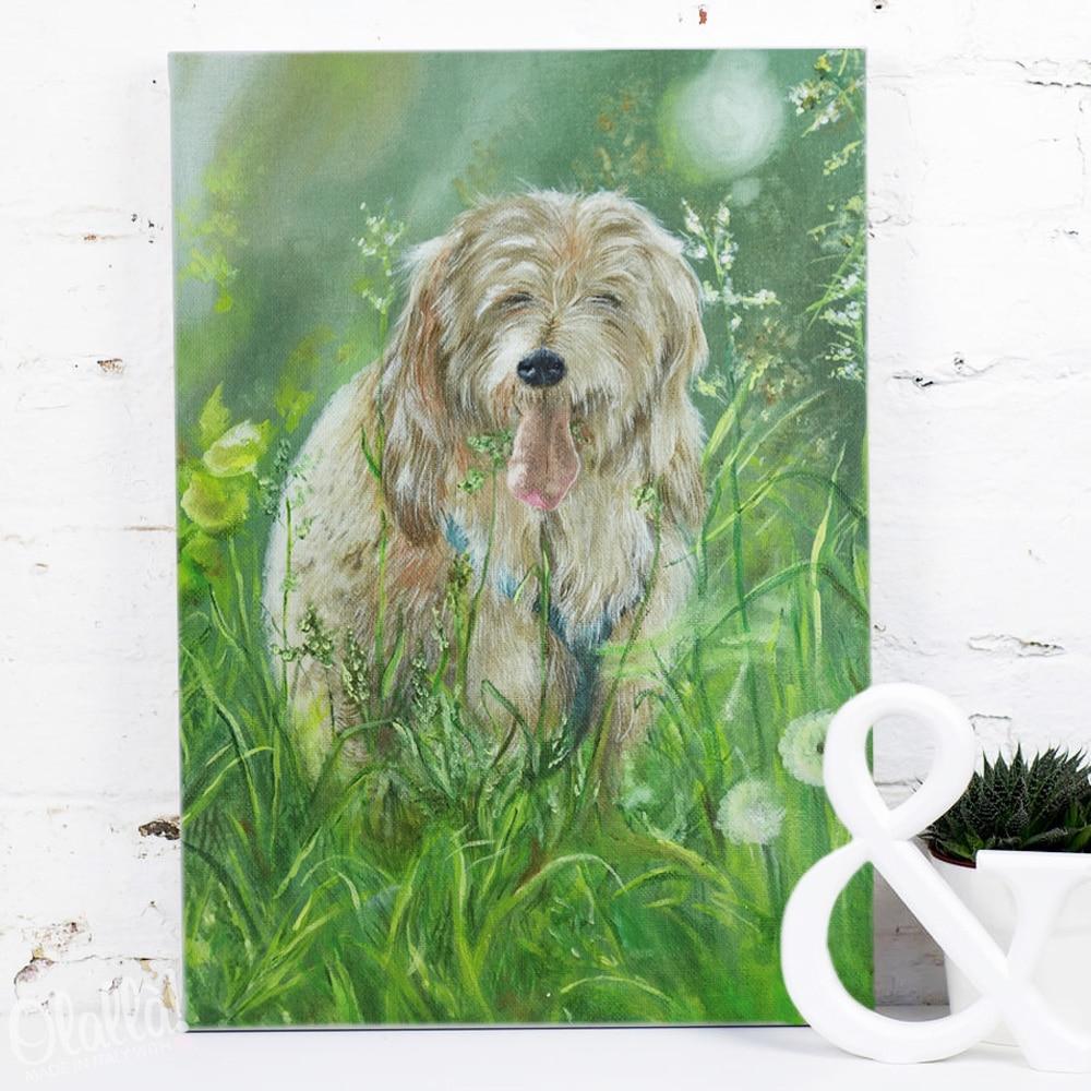 ritratto-cane-personalizzato-dipinto