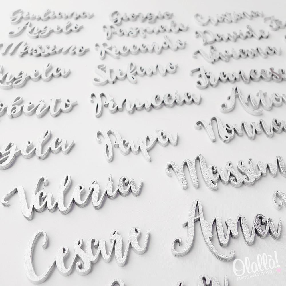 Segnaposto Con Nome Da Stampare segnaposto personalizzabile con nome | olalla