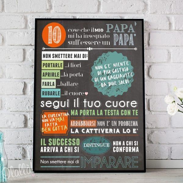 stampa-personalizzata-10-cose-che-il-mio-papà-mi-ha-insegnato-sul-essere-papà-festa-del-papà