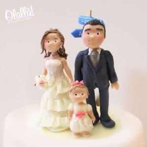 coppia-sposini-fimo-bimba-personalizzata-statuine-torta