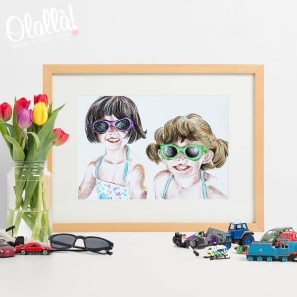ritratto-regalo-bambini-festa-mamma-personalizzato