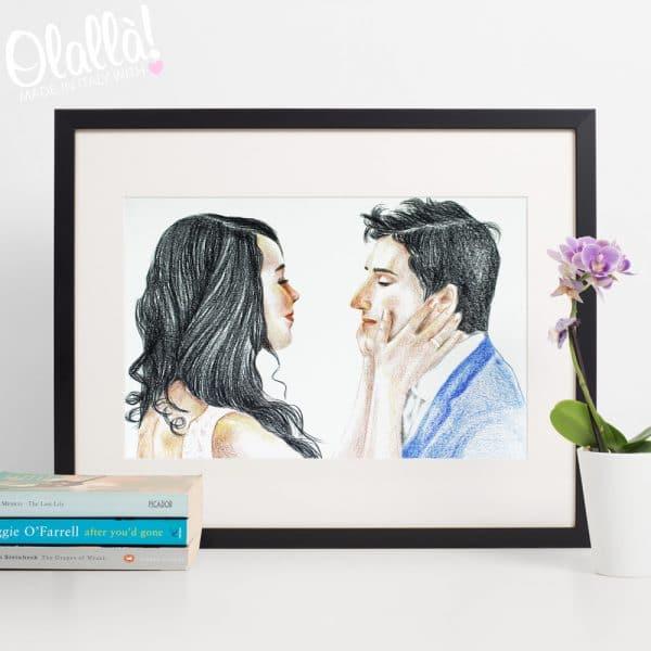 ritratto-regalo-matrimonio-personalizzato