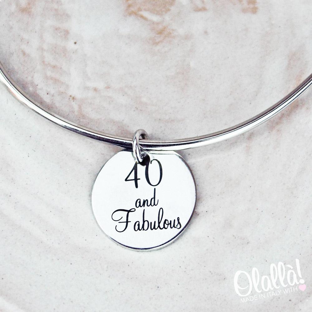 nuova collezione 01a6a 10a20 Bracciale d'Argento Personalizzato