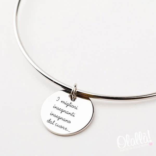 bracciale-argento-medaglietta-migliori-insegnanti-regalo-per-maestre2