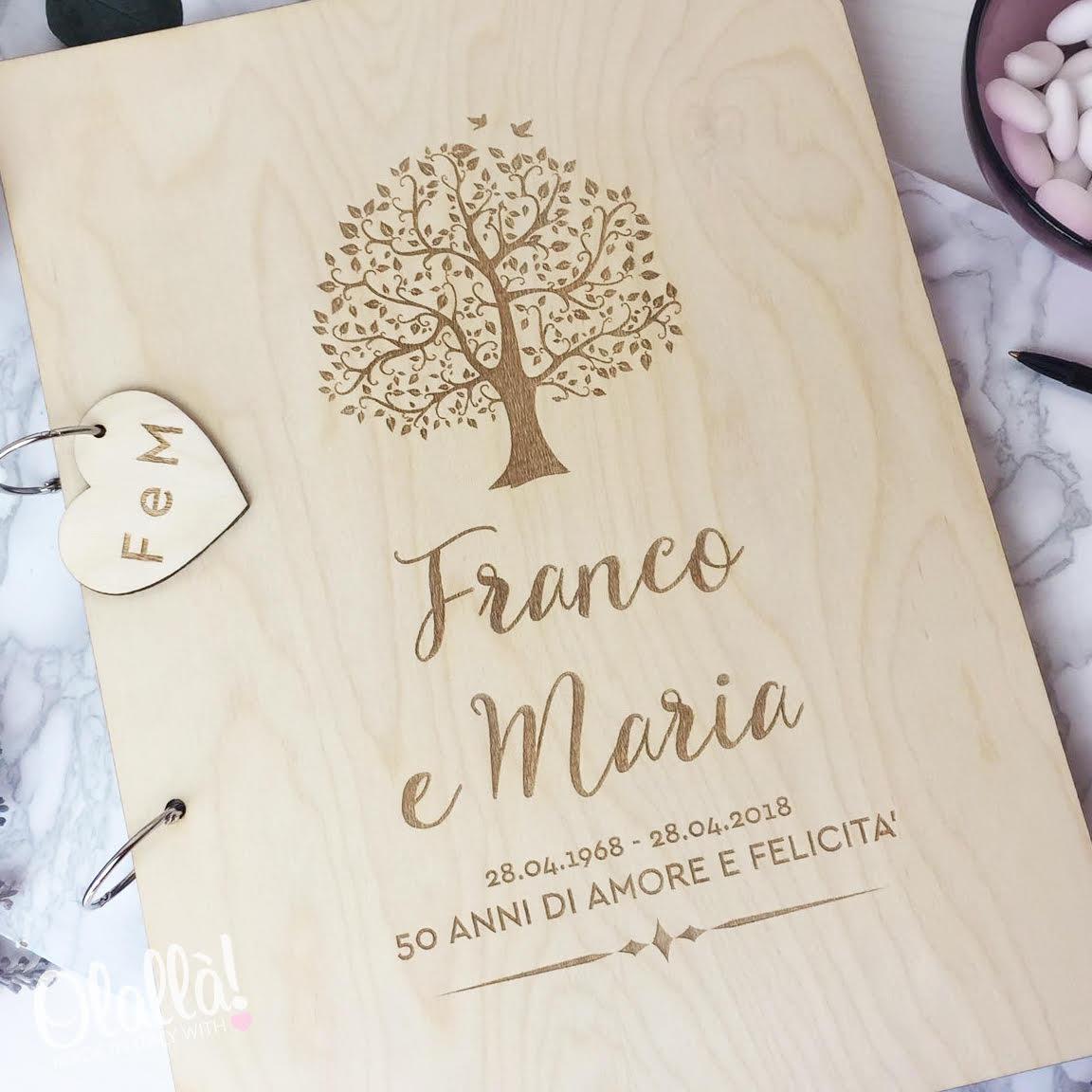 guestbook-anniversario-50-anni-in-legno-con-albero-della-vita-e-dedica2