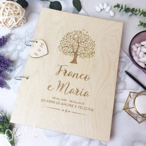 guestbook-personalizzato-anniversario-50-anni-in-legno-con-albero-della-vita-e-dedica