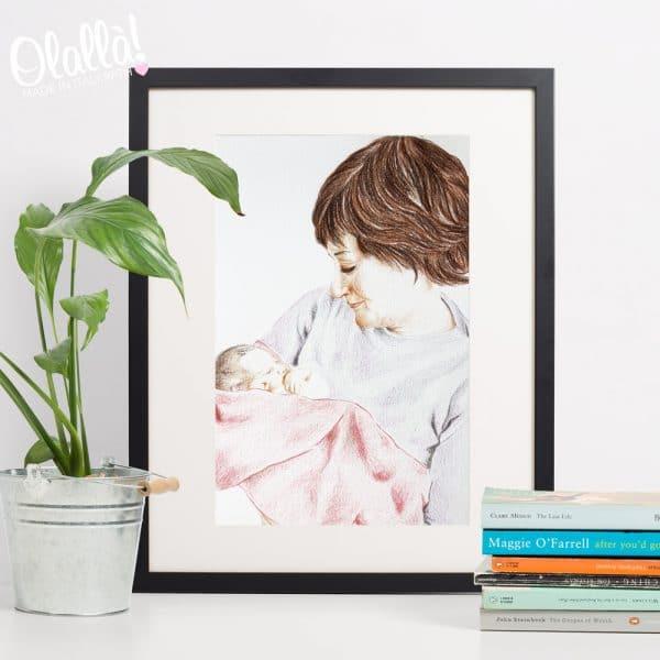 ritratto-mamma-personalizzato-regalo
