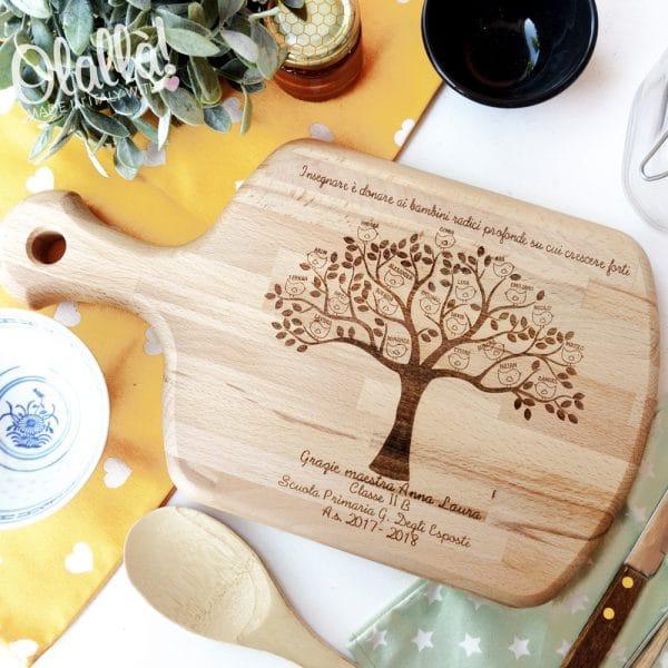 tagliere-personalizzato-regalo-maestre-albero