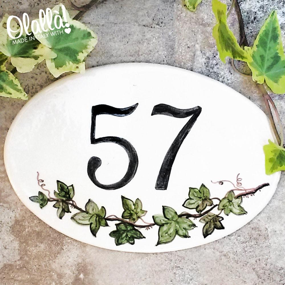 numero-civico-ceramica-personalizzato-decoro-edera