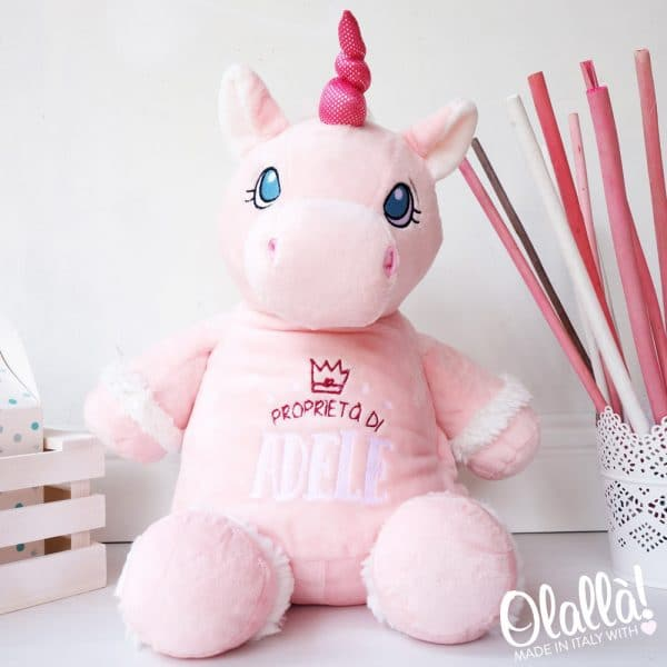 pupazzo-personalizzato-regalo-bambino-ricamato-unicorno