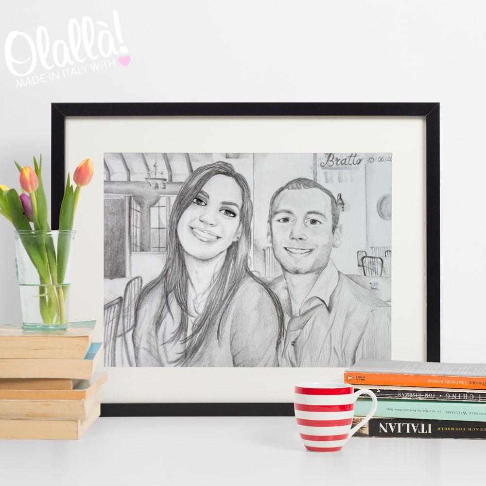 ritratto-personalizzato-matita-coppia-anniversario