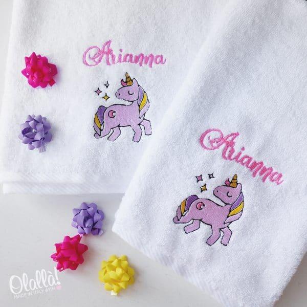 asciugamano-spugna-ricamo-nome-personalizzato-unicorno-1