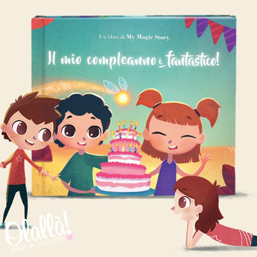 Libro Fiaba Personalizzato Per Bambini Il Mio Compleanno E