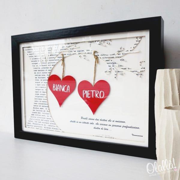 quadro-cuori-carta-personalizzato-coppia-regalo-4