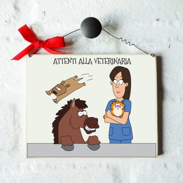 targhetta-personalizzata-ritratto-caricatura-veterinario