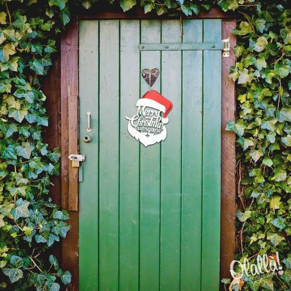 decorazione-babbo-natale-porta-casa