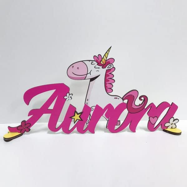 decorazione-personalizzata-nome-regalo-unicorno