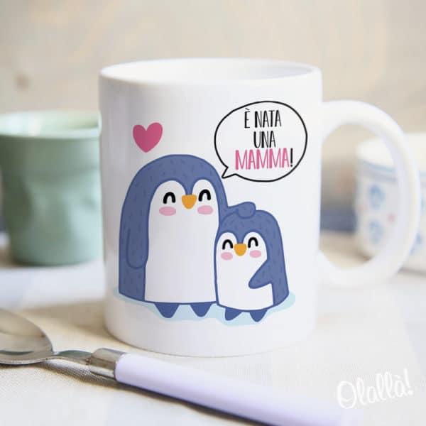 tazza-pinguini-regalo-mamma-personalizzata