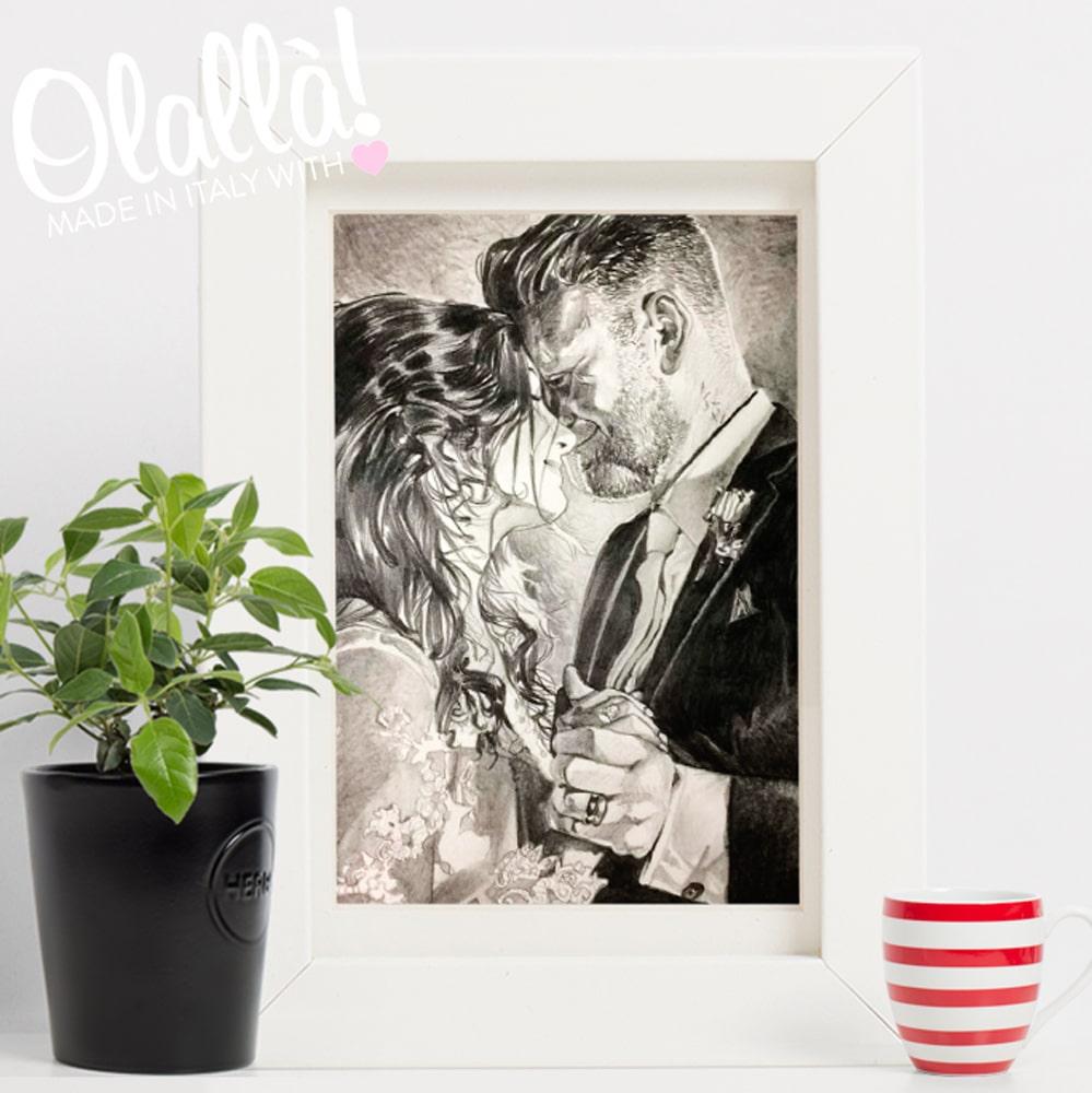 ritratto-personalizzato-matrimonio-sposi-regalo